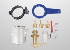"Water inlet kit 12,5MM (1/2"")   - 50230201 / 40230201"